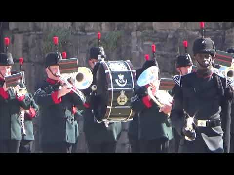 The Band and Bugles of the Rifles - Army Wales Festival of Music 2018