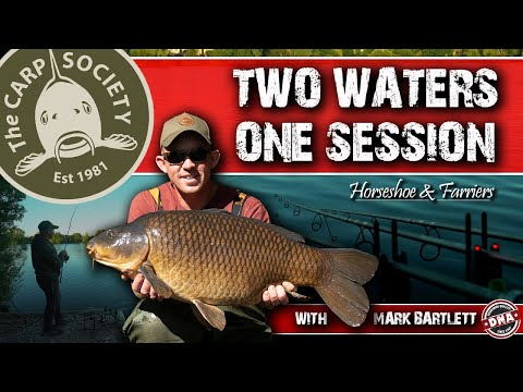 ***CARP FISHING*** 'Two Waters, One Session', Mark Bartlett, DNA Baits, The Carp Society