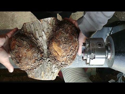 Woodturning IronWood Burl