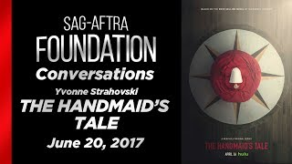 Conversations with Yvonne Strahovski of THE HANDMAID'S TALE