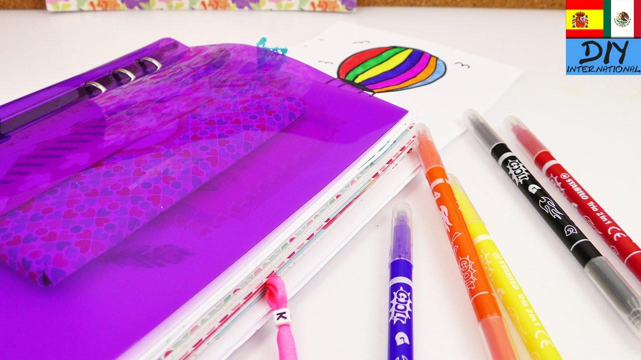 3 dibujos sencillos para decorar cuadernos youtube - Fotografias para decorar ...