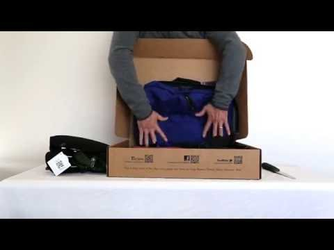 Unboxing of Tom Bihn DLBP, WF, A45, PCSB, LSS