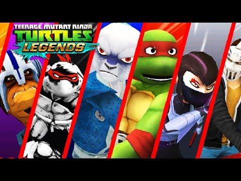 Teenage mutant ninja turtles - СОСТАВЫ ОТ ПОДПИСЧИКОВ  ВИДЕО ИГРА ДЛЯ ДЕТЕЙ ЧЕРЕПАШКИ НИНДЗЯ ЛЕГЕНДЫ