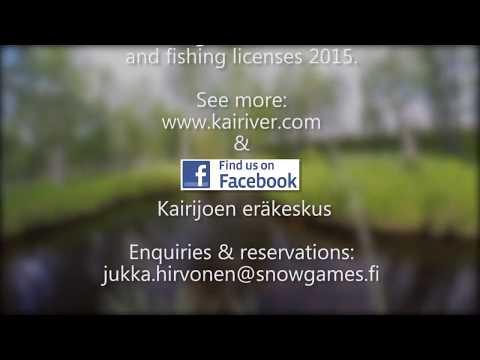 Fly fishing  Little creeks – Kairijoki – Kairiver – Lapland   Finland