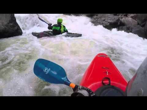 Kayaking Gore Canyon 10.25.15 1200cfs colorado river whitewater rcre