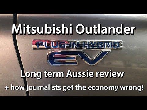 2016 Outlander PHEV Aussie Review