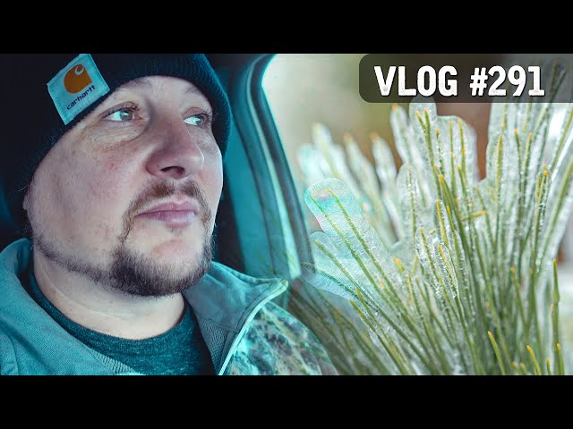 VLOG #291 / EVERYTHING is ICY! / October 28, 2020