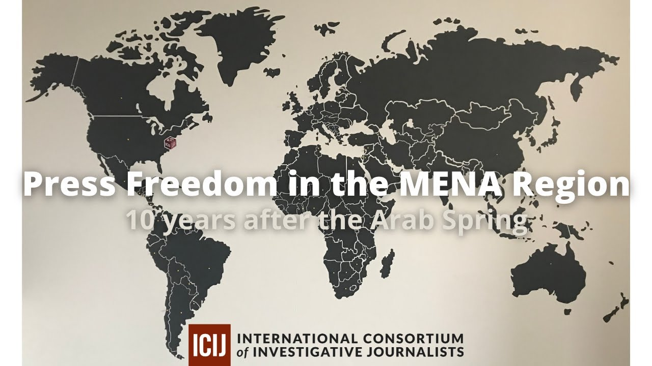 Press Freedom in the MENA Region: 10 years after the Arab Spring