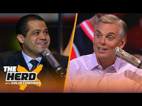 Lakers are 'quietly confident' they will sign Kawhi, talks FA moves - Arash Markazi | NBA | THE HERD from YouTube · Duration:  8 minutes 45 seconds