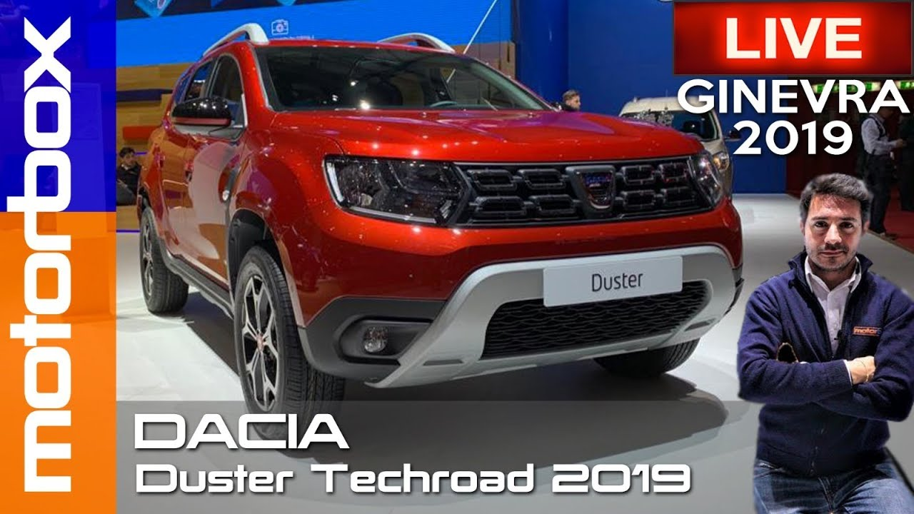 dacia duster techroad 2019