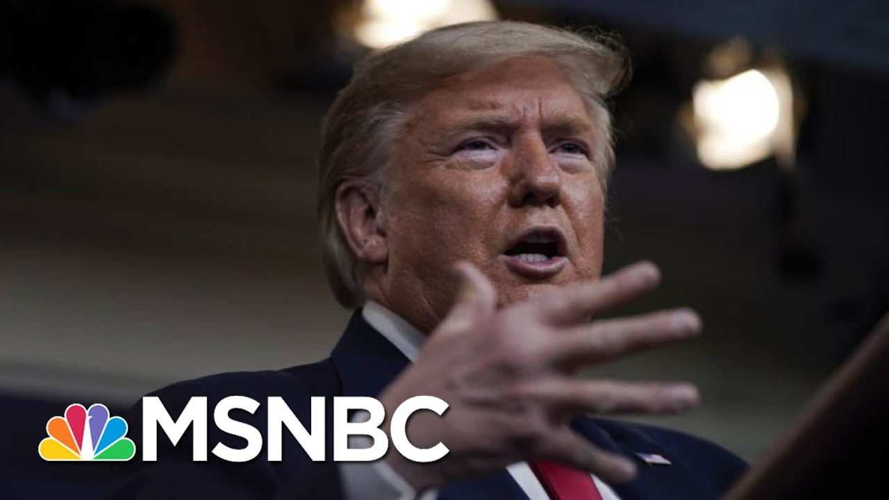 Trump Casts Doubt On Need For Huge No. Of Ventilators To Fight Coronavirus | The 11th Hour | MSNBC