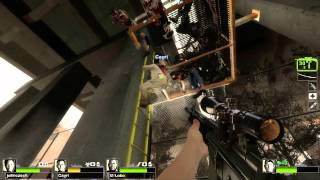 Left 4 Dead 2 Multiplayer Playthrough / Gameplay Part 5 The Parish Ellis Full HD 1080