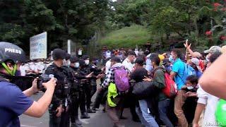 Se disipa la caravana de migrantes
