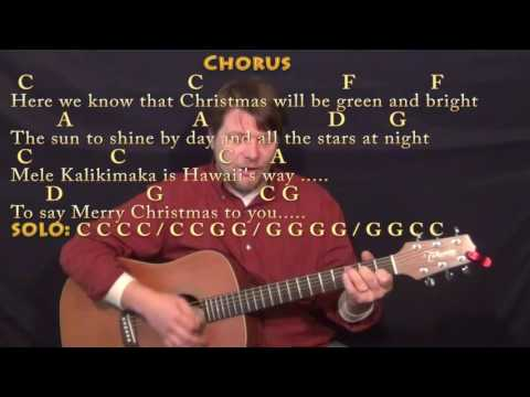Mele Kalikimaka Lyrics and Chords