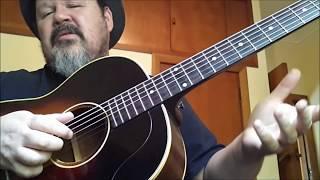 Darren Watson | FREE BLUES GUITAR LESSON | Delta Blues Fingerstyle Lesson