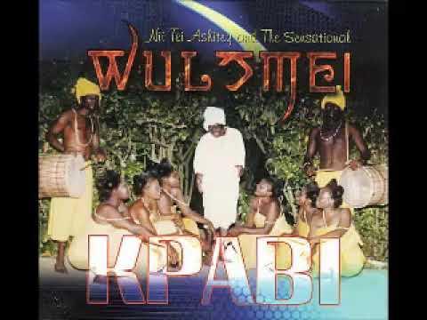 Nii Tei Ashitey And The Sensational Wulomei – Kpabi : GHANA Highlife African Folk Music ALBUM Songs