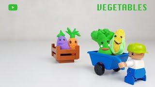 Little vegetables for our magic farm Маленькие овощи для нашей волшебной фермы