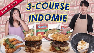 3-Course Indomie Meal!   Eatbook Cooks   EP 46
