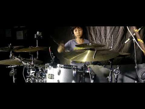 Marshmello - Alone ( drum cover version ) by Lexa Apregio drummer cilik