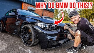 FIXING MY WRECKED BMW M4 IS EXPENSIVE