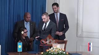 Shteti Palau terheq njohjen e Kosoves | ABC News Albania