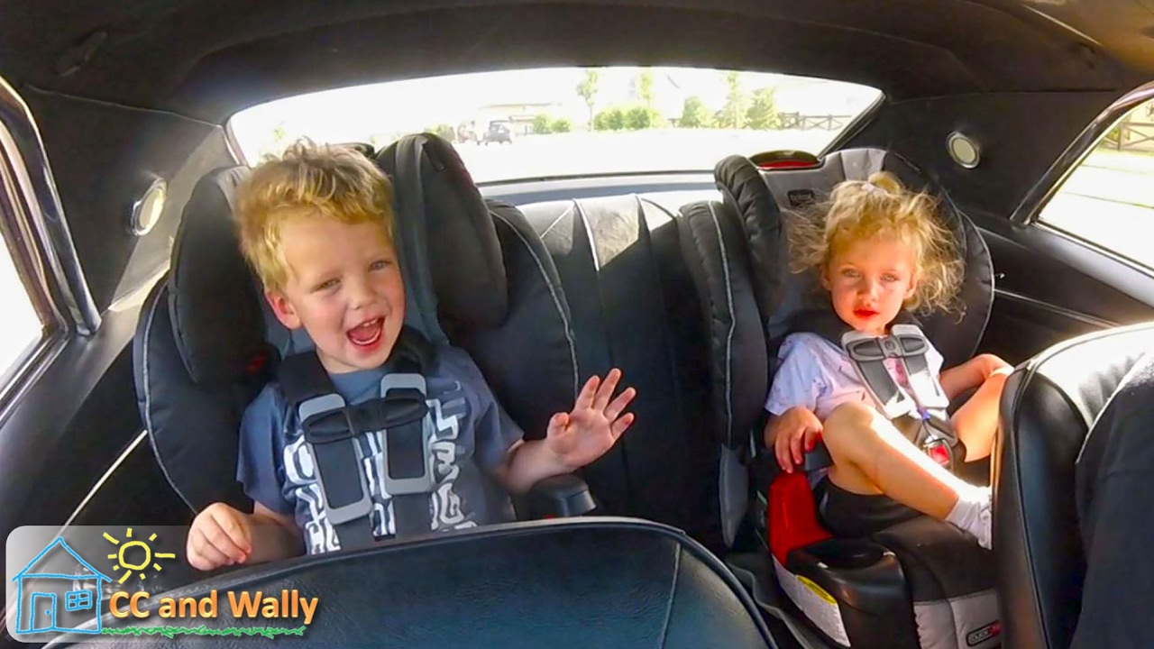 Camaro SS First Drive With Kids Child Seats In A Classic Car And Country Road Driving