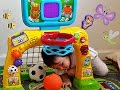 Vtech Smart Shots Sports Center Unboxing - Toddlers Learning and Playing Sports Toys