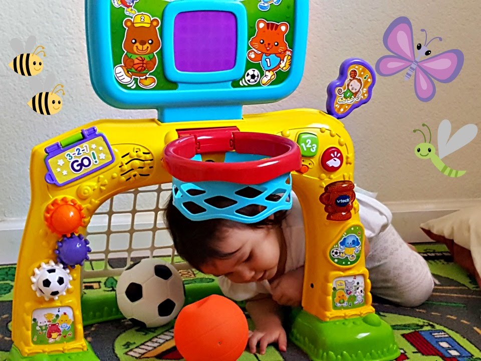 Vtech Smart Shots Sports Center Unboxing Toddlers Learning And