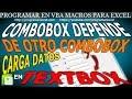 148 Combobox depende de otro Combobox y carga datos en Textbox