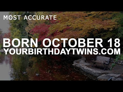 Born On October 18 | Birthday | #aboutyourbirthday | Sample