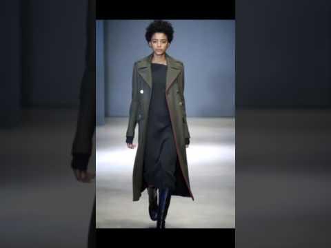 Модные женские пальто на осень 2016: пальто в стиле милитари