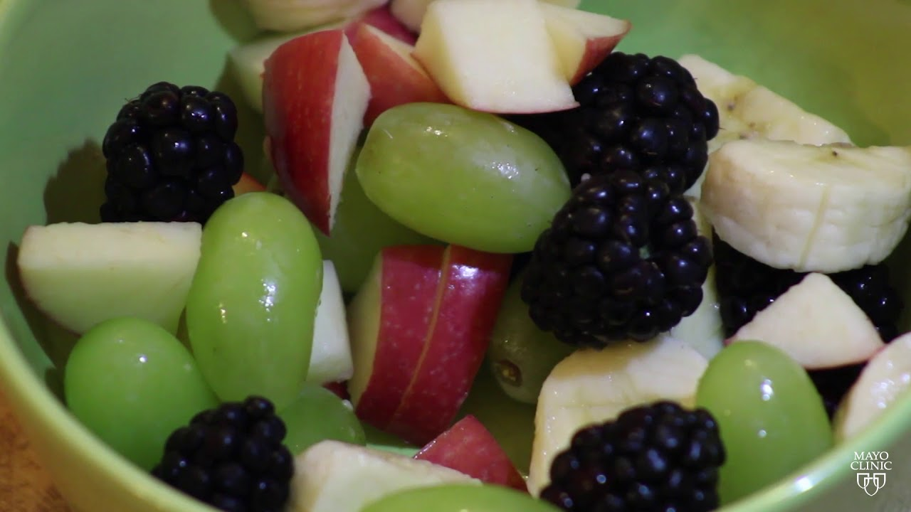 Mayo Clinic Minute: How to eat healthy