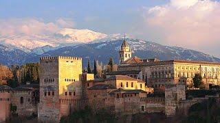 Гранада, Андалусия, Испания (Granada, Andalusia, Spain)(Первое, что приходит на ум при упоминании города Гранада — это, конечно же, величественная красная крепость..., 2016-06-28T19:50:32.000Z)