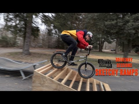 RIDING STRANGER THINGS IN THE DRIVEWAY!