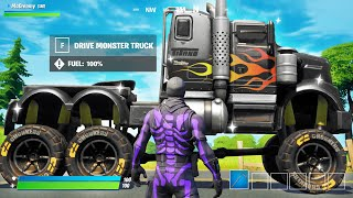 I made a MONSTER TRUCK in Fortnite!