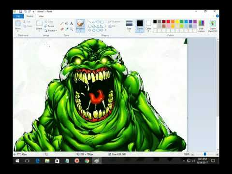 Construct 2 Game Maker Slimer (Ghostbusters)