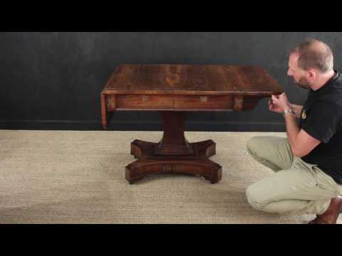 Antique Regency Sofa Table - Of the best quality