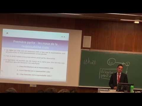 Conférence d'Olivier Gout -