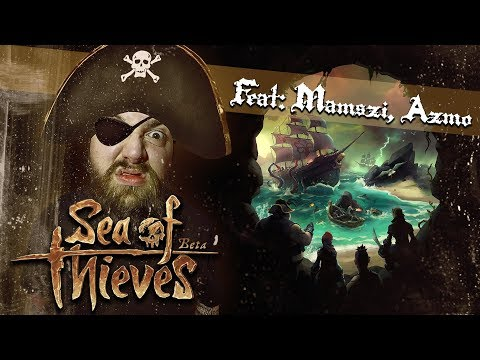SEA OF THIEVES BETA | #2 feat MAMSZI & AZMO | XBOX ONE X