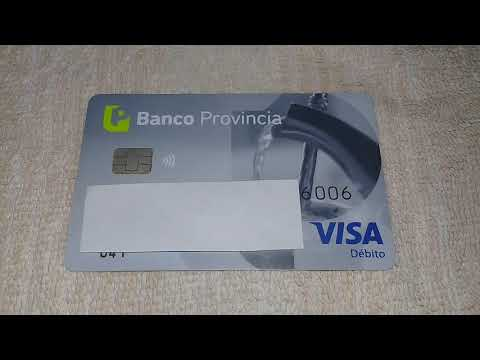 BANCO PROVINCIA COMO ACTIVAR LA TARJETA DE DEBITO