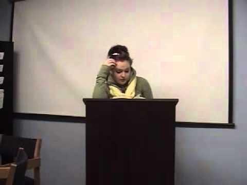 Bad Public Speaking Example 3 Low - YouTube