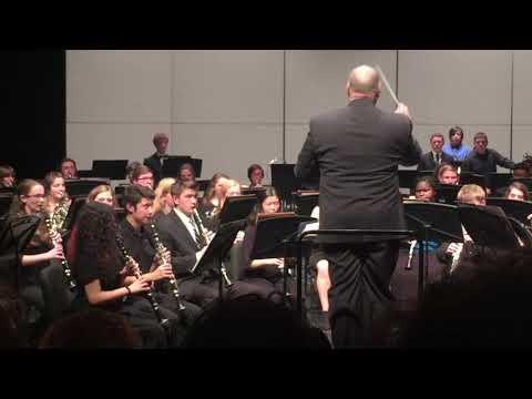 """Manhattan Beach"" performed by the 2018 UT Martin High School Wind Ensemble"