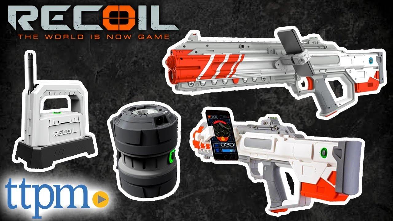 Recoil Laser Tag Starter Set Sr 12 Rogue Amp Frag Grenade