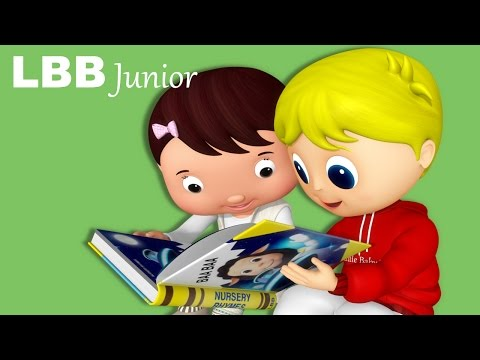 Book Song!  We Love Books!  Original Songs   LBB Junior