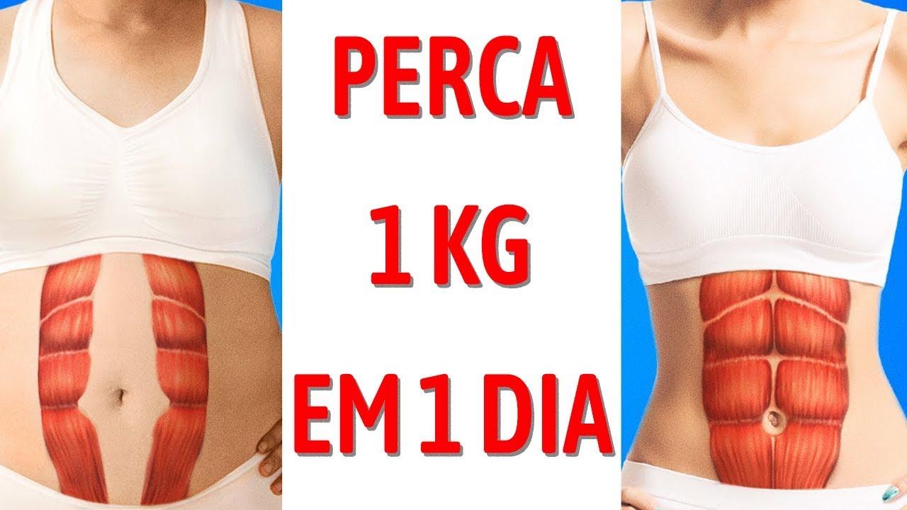 Plano de Dieta para Perder 1kg em 1 dia