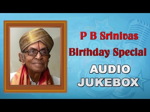 P.B. Srinivas Telugu Songs Collection | Birthday Special Jukebox | Old Telugu Songs Melodies