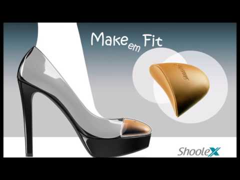 Are your shoes too big for your feet? You can now Make 'Em Fit!