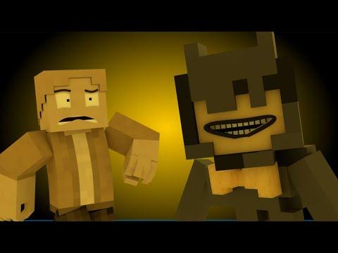 """Spotlight"" | Minecraft BATIM Animation Music Video [Song by CG5] | ""Ink Machine"" Part 1/5"