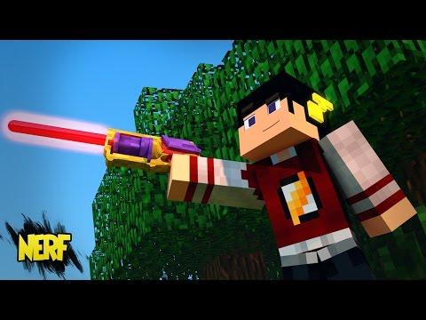 Minecraft: ERA DO FUTURO 2 - ARMA DE LASER QUE MINERA! ‹ 13 / AMENIC ›