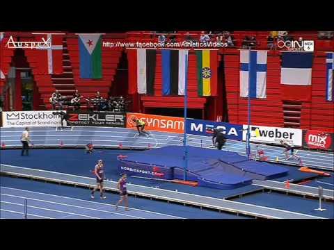 Abdelalelah HAROUN 59.83 500m indoor WR